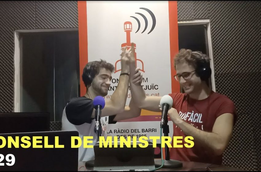Podcast Consell de Ministres #29
