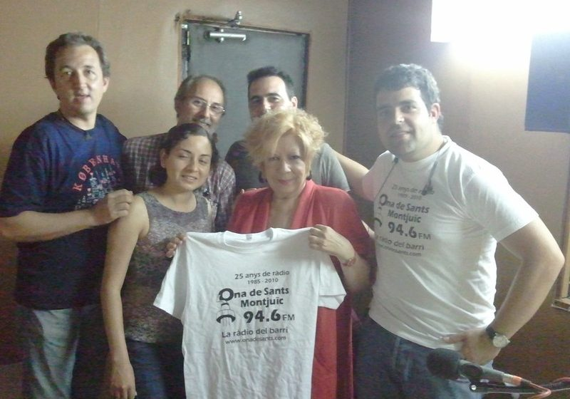 Núria Feliu es recupera a casa d'un ictus cerebral