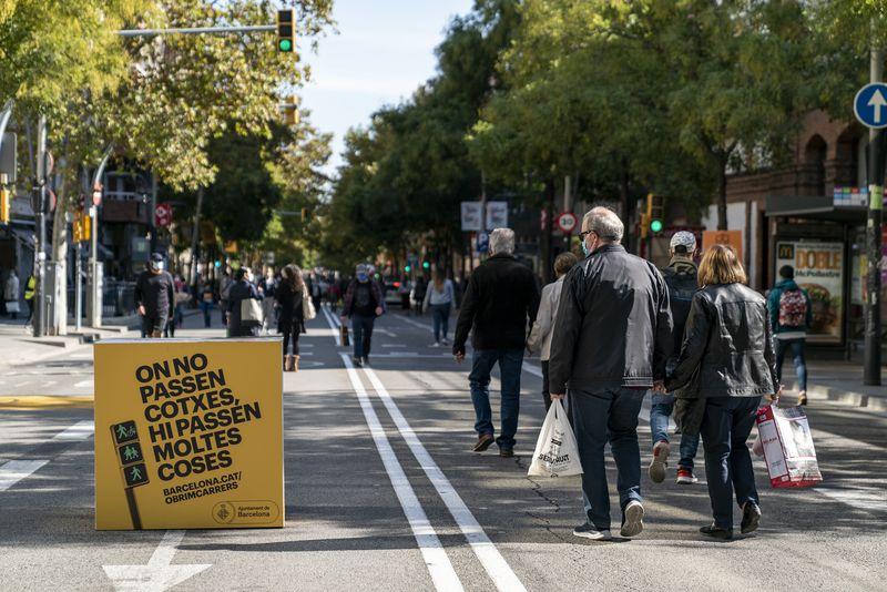 """Marc Serra: """"'Obrim carrers' s'ha de convertir en una nova tradició a Sants-Montjuïc"""""""