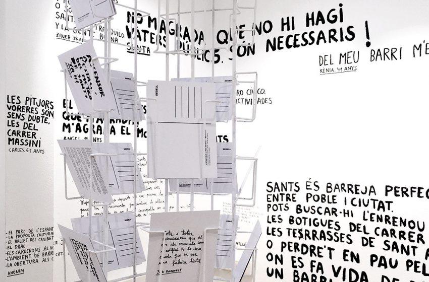 """Clara Nubiola: """"Aquesta exposició és feta pels veïns per als veïns"""""""
