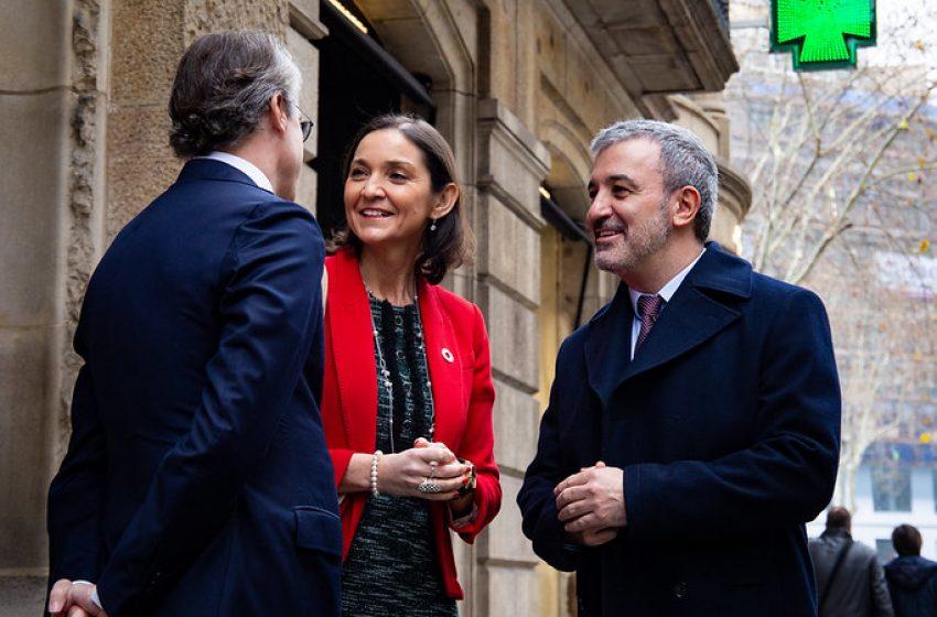 """Jaume Collboni sobre el Tanatori de Sants: """"Ens hauria agradat un altre equipament en aquell espai"""""""