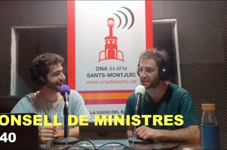 Podcast Consell de Ministres #40
