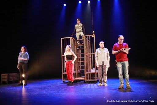 Entrevista a Joan Gil, intèrpret del musical 'Balada per un home mort'