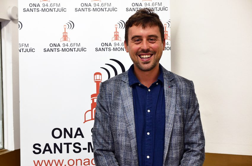 """Marc Serra: """"És un dia de reconeixement a tot l'eix de Sants-Les Corts"""""""