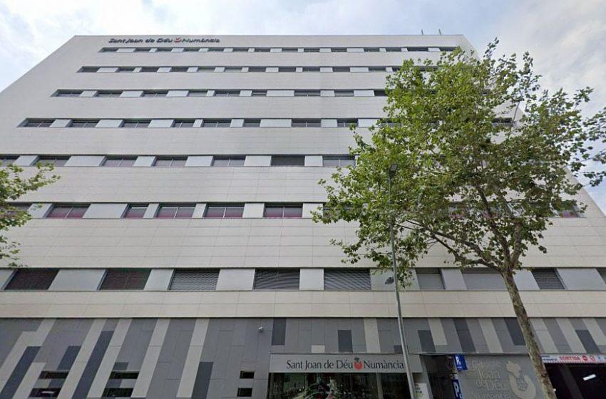 Vuit ferits lleus per un incendi a l'hospital Sant Joan de Déu-Numància
